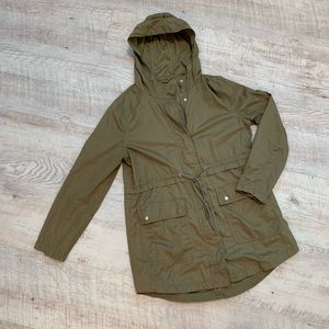 Old Navy Military Green Anorak Jacket